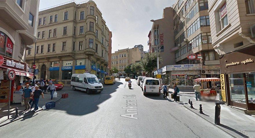 Ankara Caddesi'nin bugünkü hali Fotoğraf: Google Maps