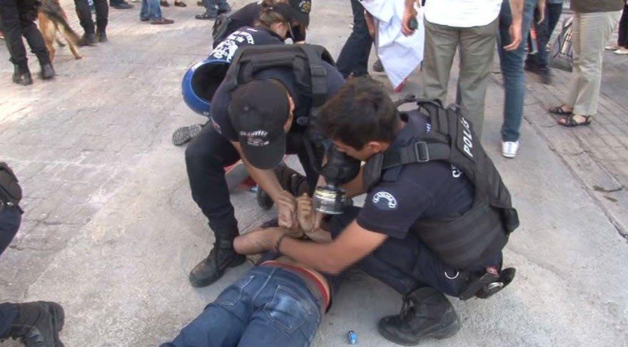 Ankara'da 26 eylemci gözaltına alındı