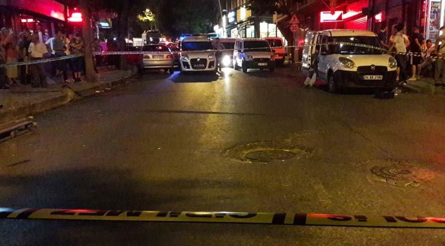 İstanbul'da aileler arasında silahlı çatışma
