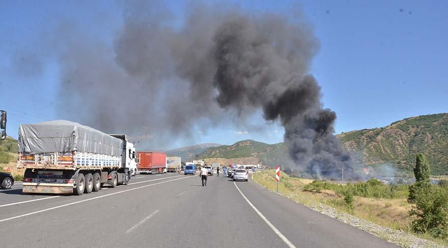 Askeri araca bombalı tuzak Üç askerimiz yaralandı