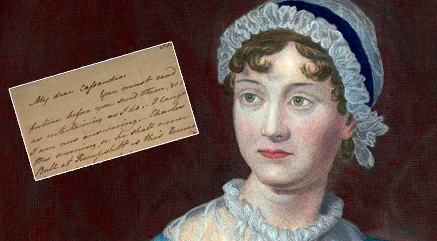 Jane Austen'ın mektubu 750 bin TL'ye satıldı