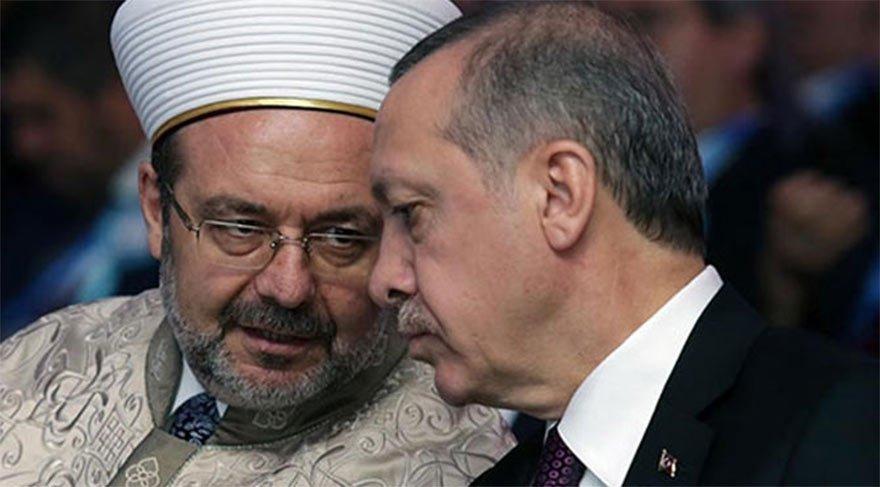 Erdoğan duyurdu: Diyanet işleri başkanı başka görev istedi