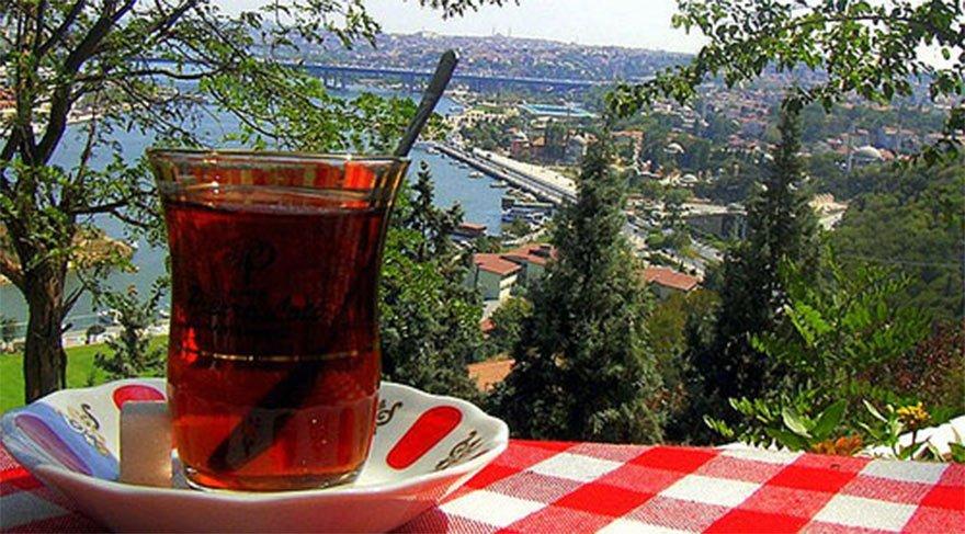 İstanbul'daki parklarda Beach fiyatına çay!