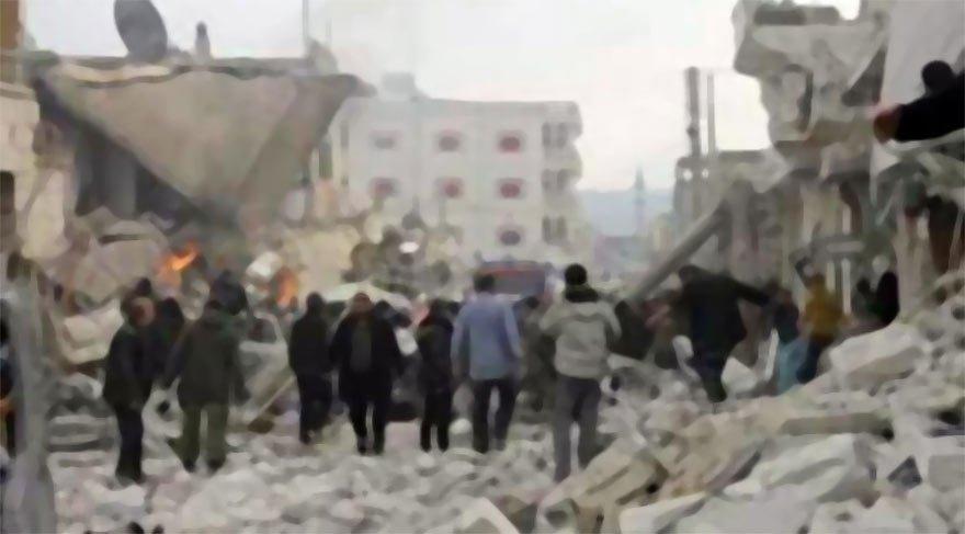İdlib'te bombalı saldırı: 12 ölü, 20 yaralı