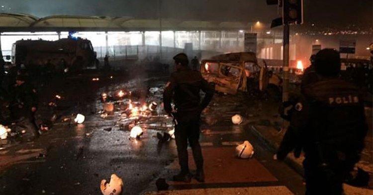 FOTO:DHA -10 Aralık 2016'da Beşiktaş'taki çifte saldırıda ise 46 kişi şehit olmuştu.
