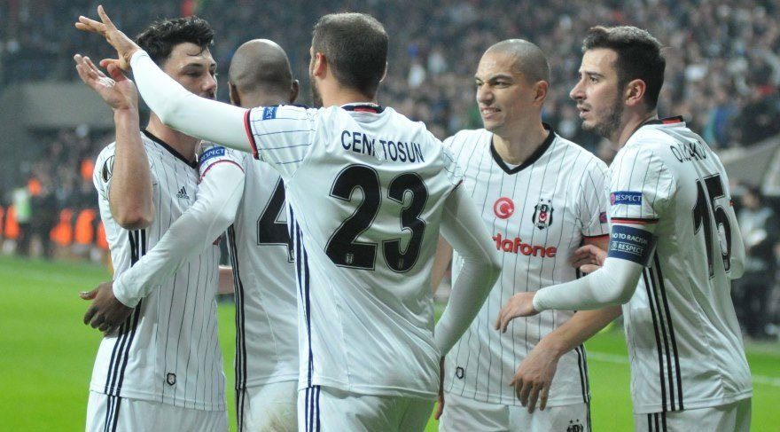Beşiktaş Schalke 04 maç sona erdi (Gollü maçı kim kazandı?)