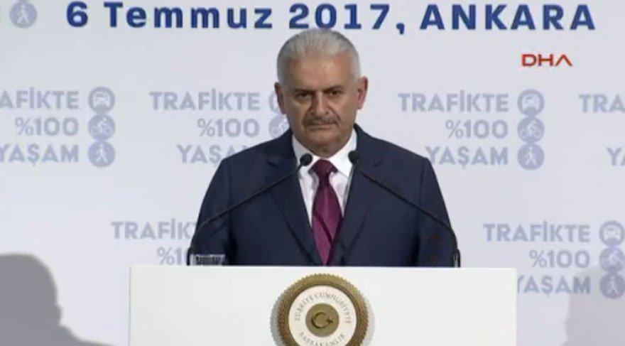 Başbakan Yıldırım'dan AP'ye sert tepki