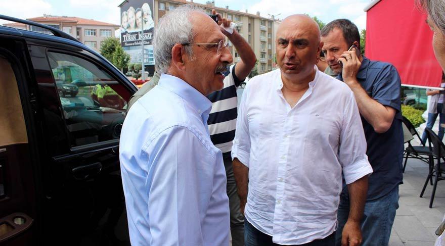 Kemal Kılıçdaroğlu Ankara yolunda mola verdi