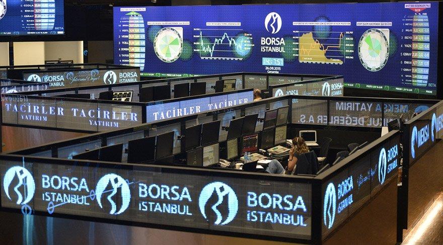 Borsa'da füze rekoru
