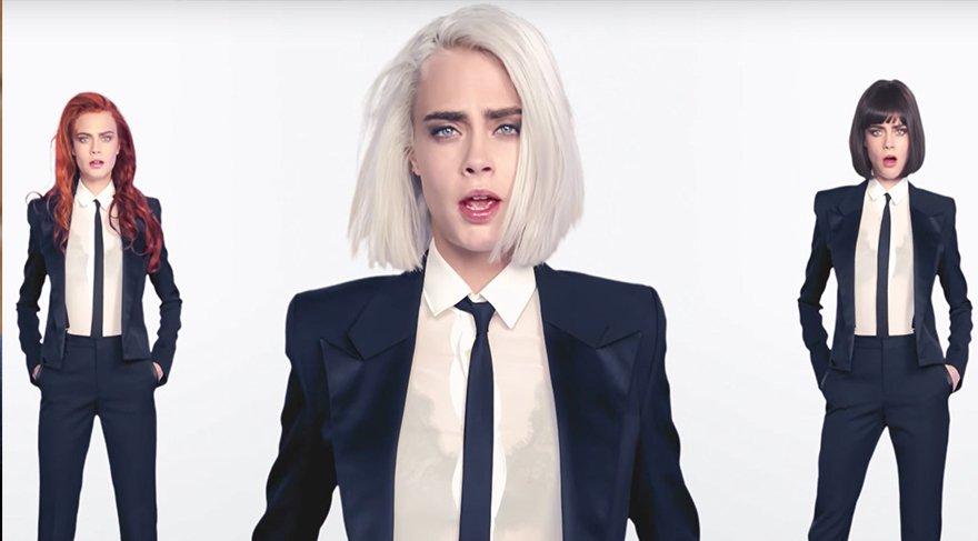 Cara Delevingne'ın ilk müzik videosu yayınlandı!