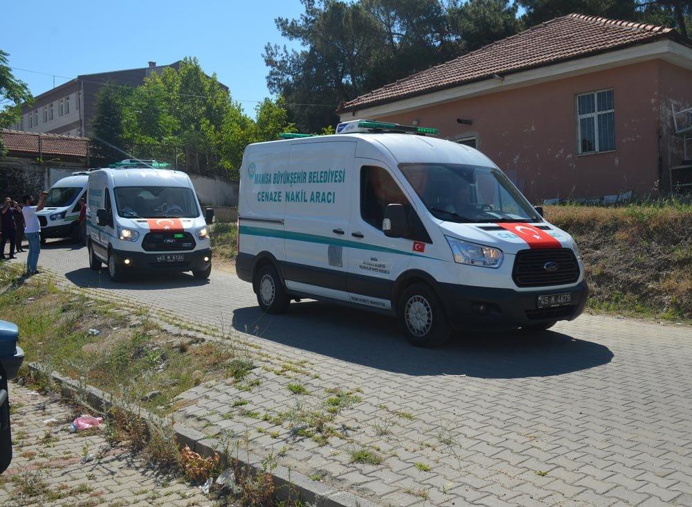 FOTO: İHA / Cenazeler nakil araçlarıyla memleketlerine gönderildi.