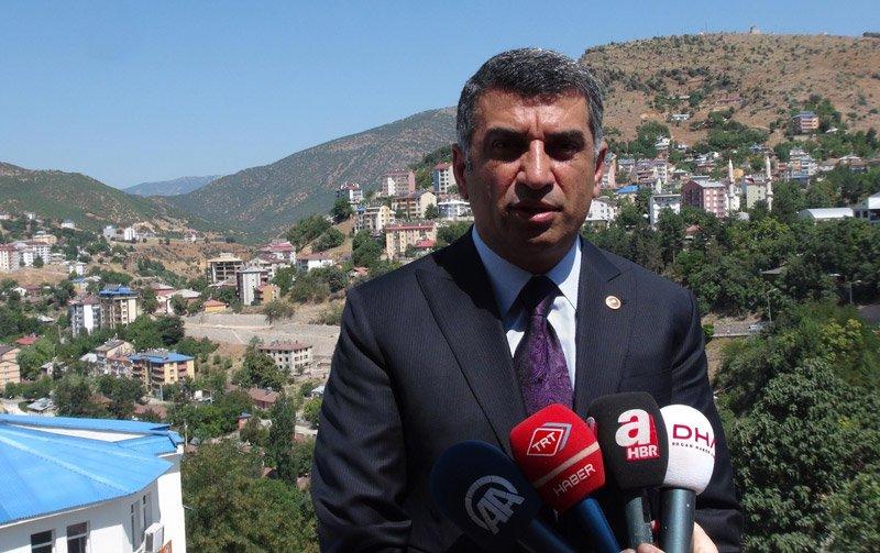 FOTO:DHA-CHP Tunceli Milletvekili Gürsel Erol yarınki yürüyüşle ilgili açıklamalarda bulundu.