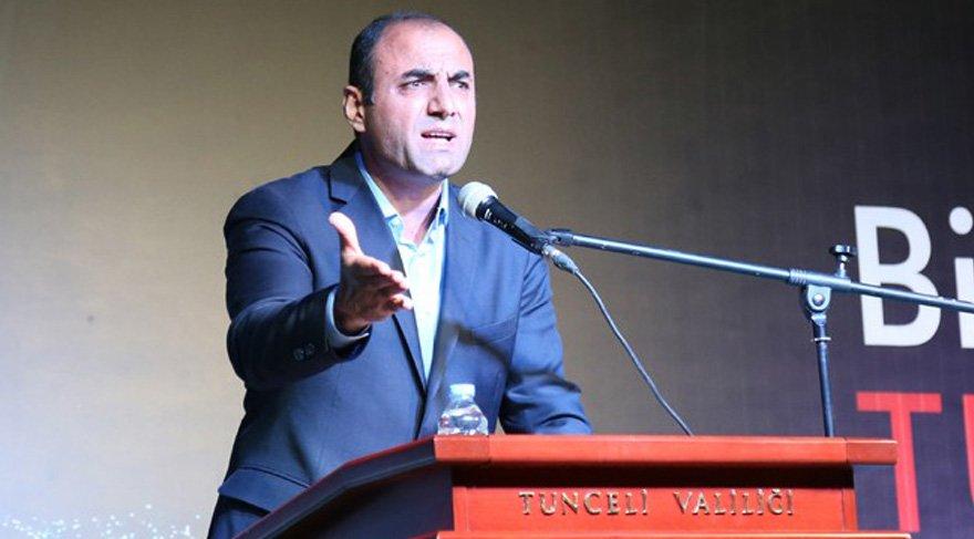 Tunceli'de CHP'li başkandan ağlatan konuşma