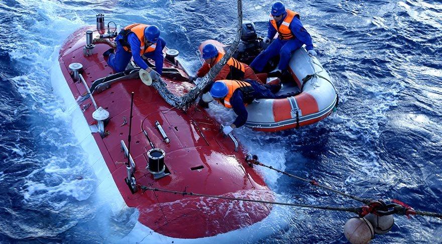 Dünyanın en derine inen insanlı araştırma denizaltısı