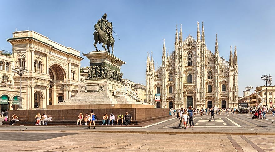 İnşaatı 519 yıl süren katedral Duomo di Milano