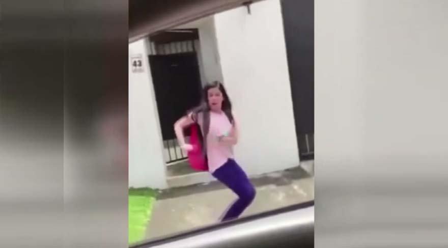Şarkıyı duyunca dayanamayıp dans eden kız viral oldu: Despacito zirveye koşuyor!