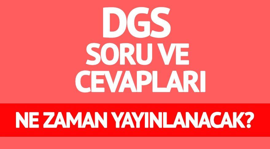 DGS sonuçları ne zaman açıklanacak? DGS soru ve cevapları için bekleyiş sürüyor! (DGS 2017)