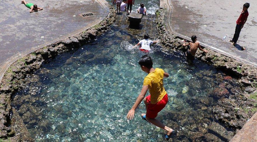Diyarbakır'da tehlikeli atlayış