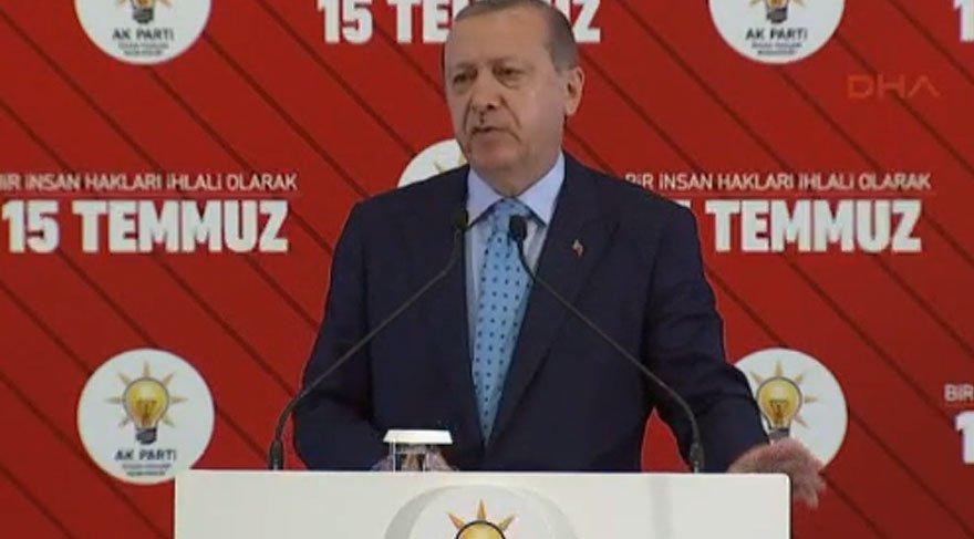 Erdoğan: Kimse OHAL'i kaldırmamızı beklemesin