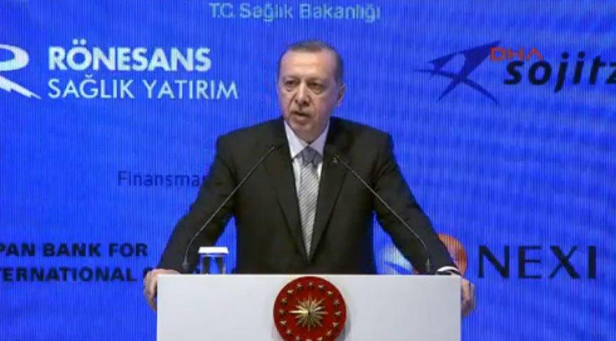 Cumhurbaşkanı Erdoğan'dan o iddialara yanıt