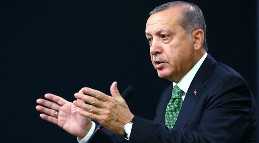 Erdoğan'dan Adalet Yürüyüşü için sert sözler