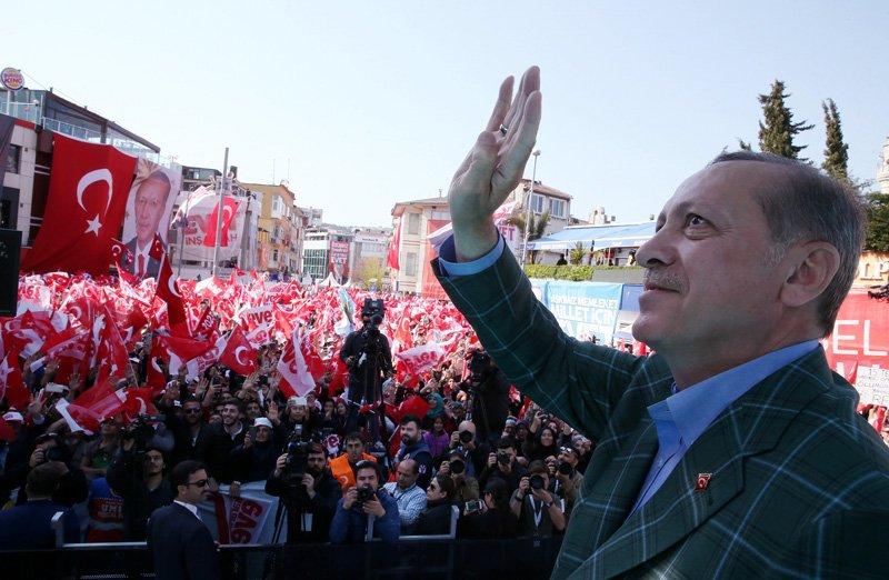 FOTO:İHA/Arşiv - Erdoğan'ın toplantıda 'seçim' vurgusu yapması bekleniyor.