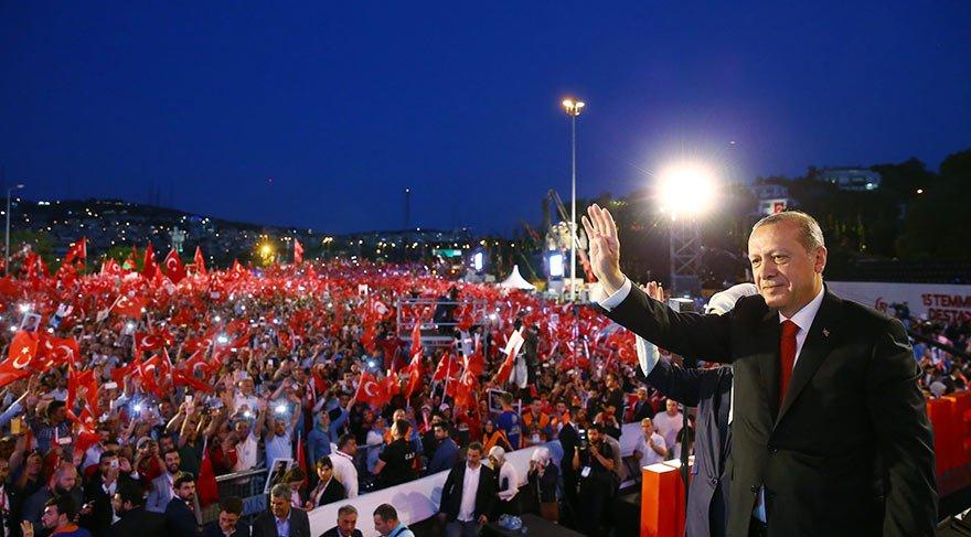 Erdoğan: Bunları tek tip elbiseyle mahkemeye çıkaralım!