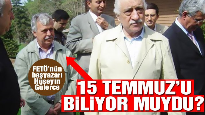 Gazetecilere iftira atan Hüseyin Gülerce darbeyi önceden biliyor muydu?