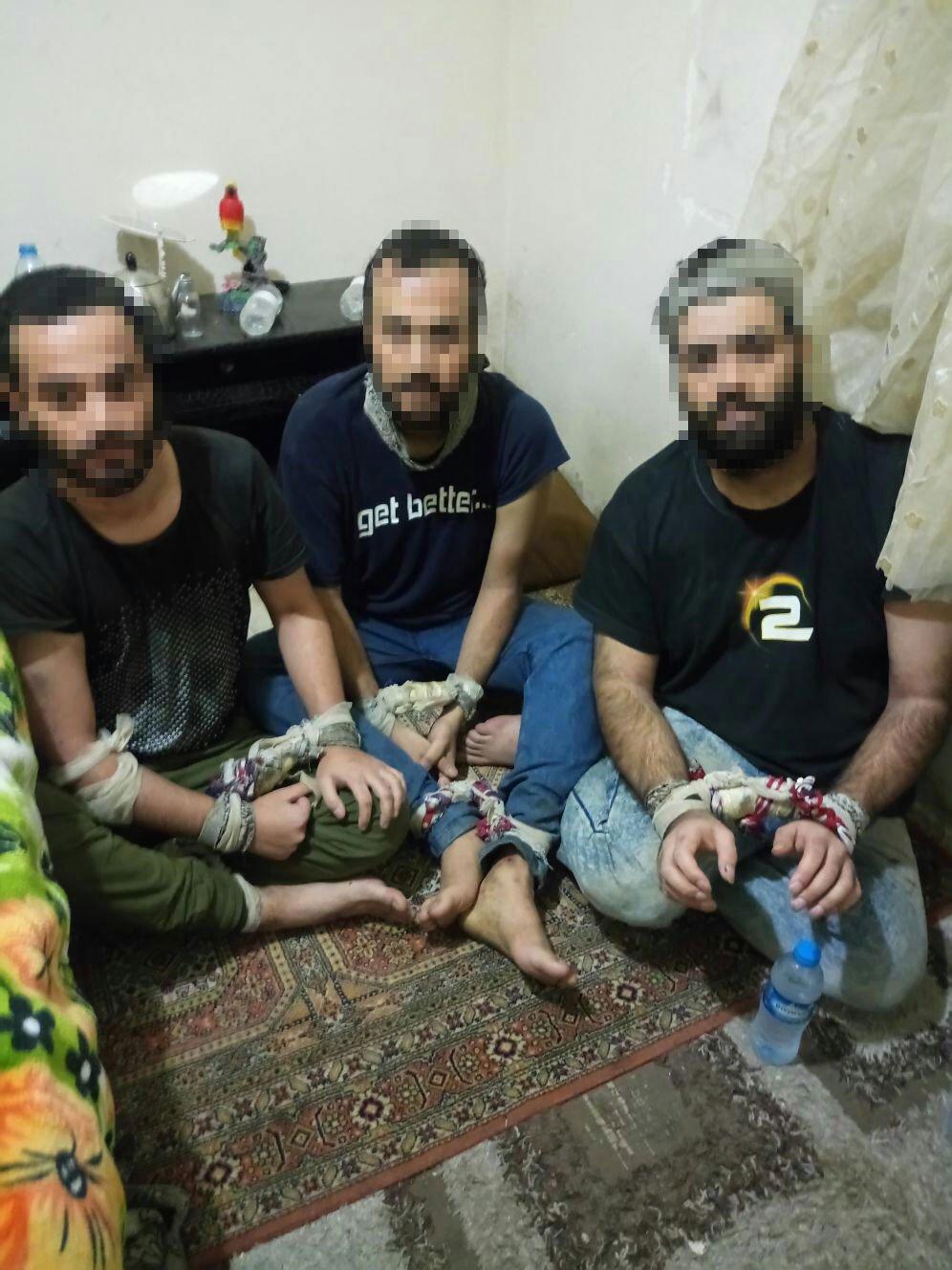 FOTO:SÖZCÜ - Kaçırılan İranlı gençler İstanbul polisinin operasyonu ile kurtarıldı.