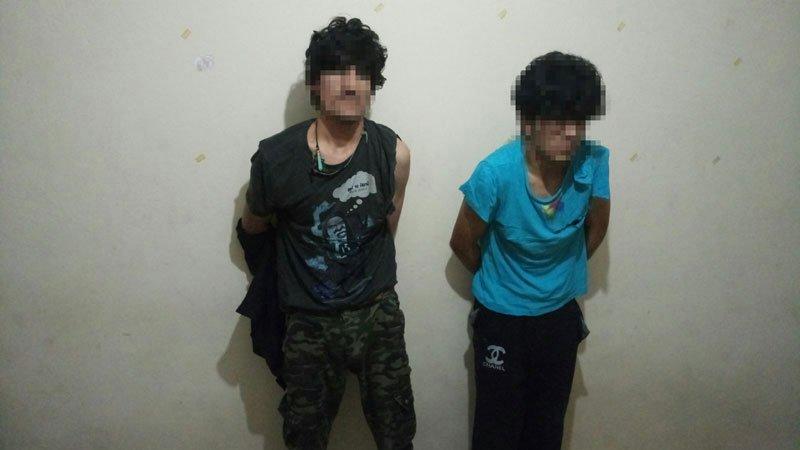 FOTO:SÖZCÜ - Afganlı çete üyeleri kıskıvrak yakalandı.