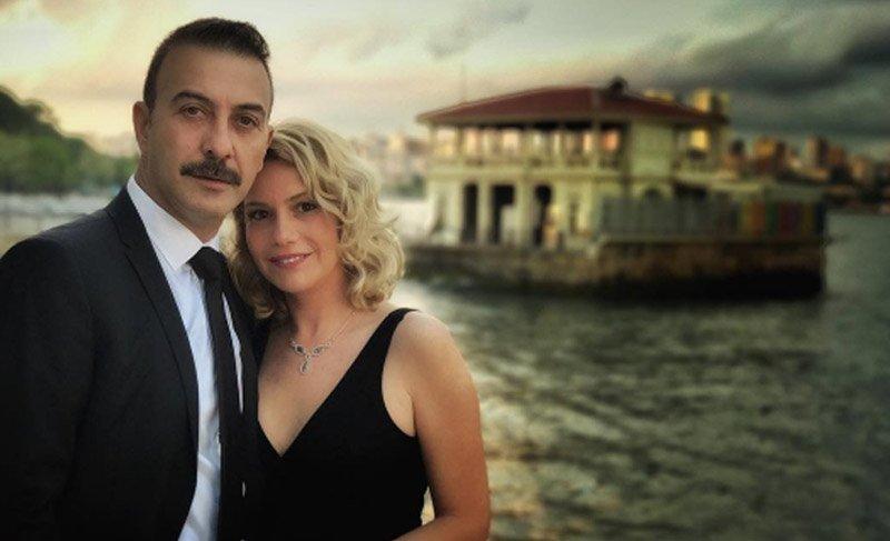 Hakan Yılmaz ve eşi Elif Öngel plajda tartıştı
