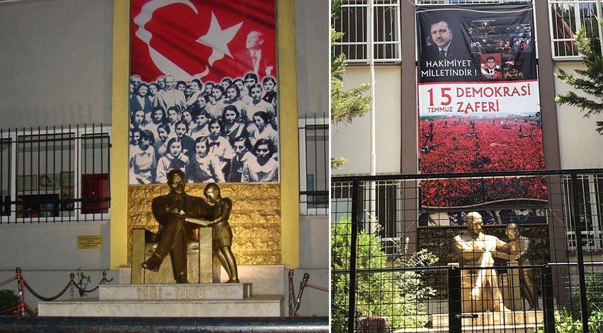 CHP'li Sertel: Atatürk ve Türk bayrağı kapatıldı