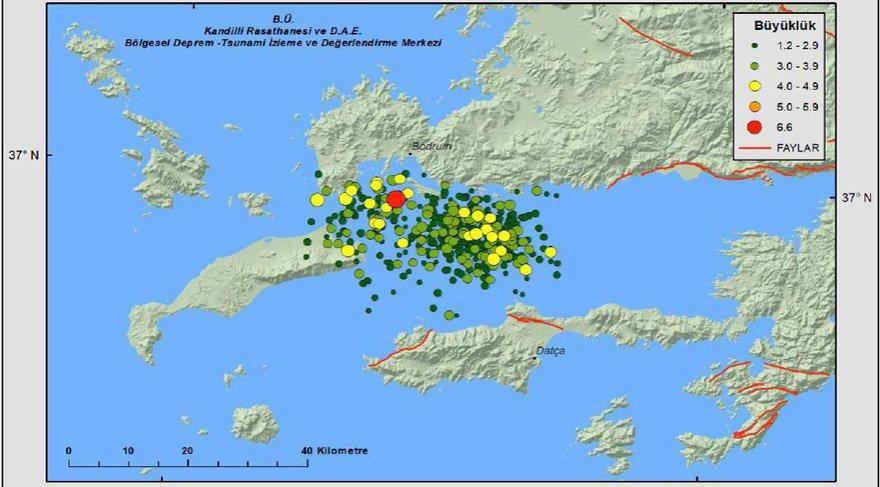 DAUM, Gökova depreminin raporunu yayınladı
