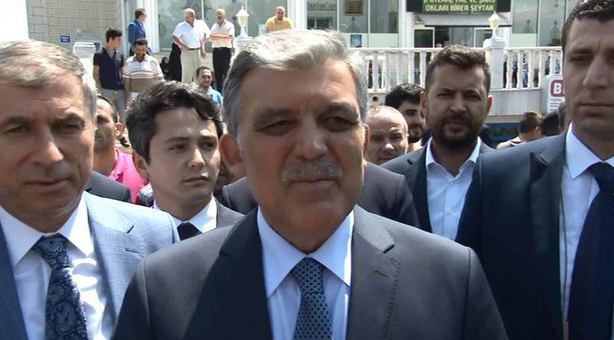 Abdullah Gül'den 'tutuklu gazeteci' çıkışı