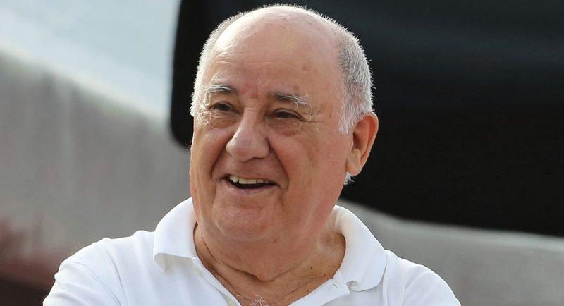 Amancio Ortega 2015 yılında 79 milyar dolarlık servetiyle birkaç günlüğüne dünyanın en zengin insanı olmuştu.