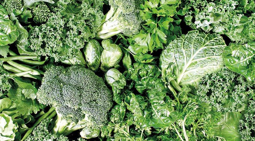 Hangi yeşil sebzeler kilo verdirir