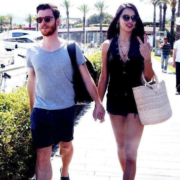 Metin Hara ve Adriana Lima geçtiğimiz günlerde Bodrum'da tatildeydi.