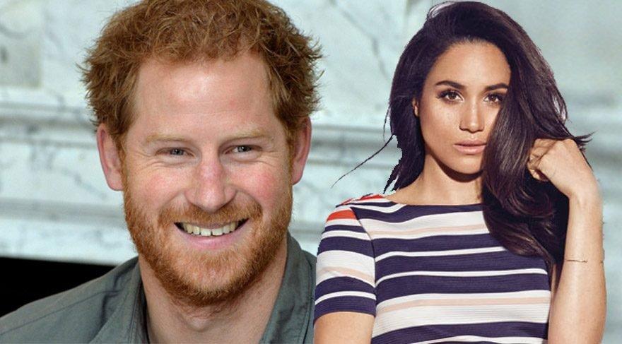 Prens Harry'nin oyuncu sevgilisi gelinlik aldı