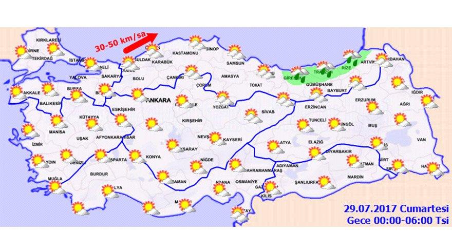 Hafta sonu hava durumu! İstanbul, İzmir, Ankara, Bursa ve Antalya'da hava nasıl olacak?