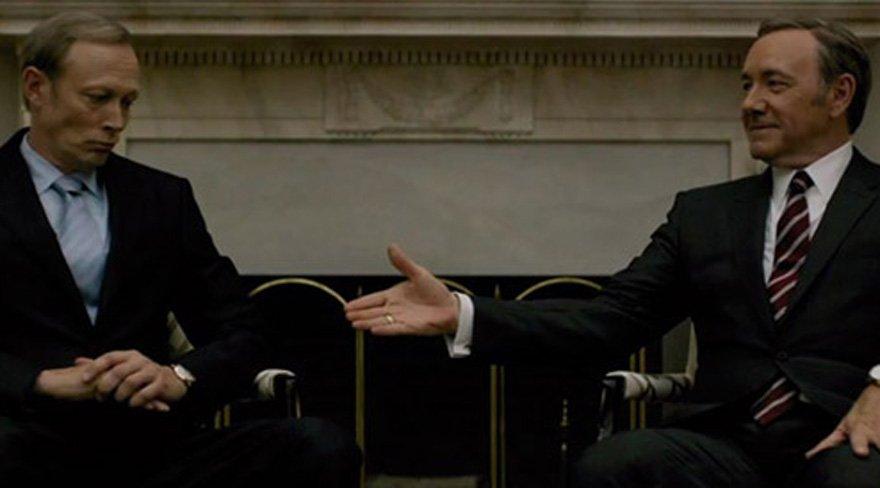 Bu sahne House of Cards'tan değil G20'den
