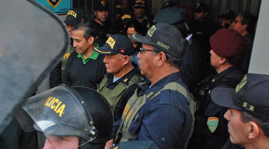 Peru eski devlet başkanı gözaltına alındı