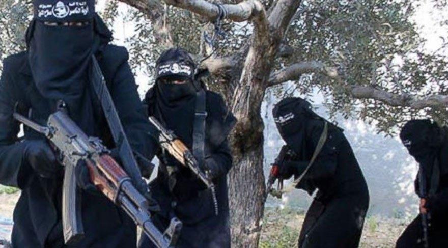 Musul'da tünelde 3 Türk IŞİD'li kadın yakalandı