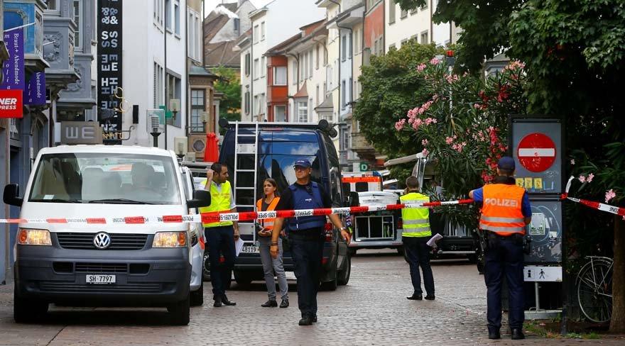 İsviçre'de elektrikli testereyle dehşet saçtı