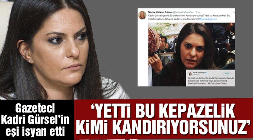 Kadri Gürsel'in eşinden 'yeni bakanın' tweetlerine çok konuşulacak tepki!