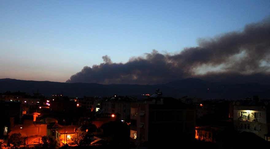 İzmir ve Denizli'de orman yangınları