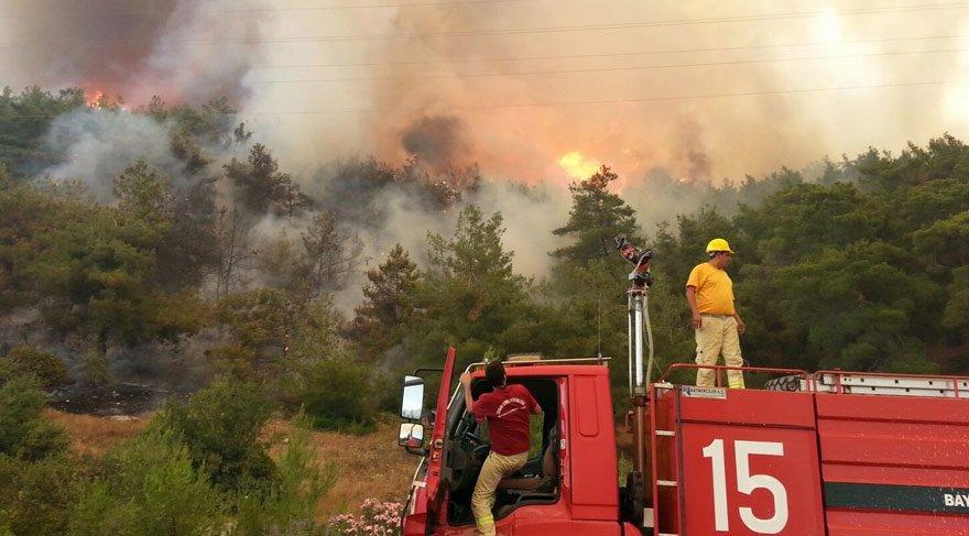 Son dakika.... İzmir'de orman yangını... Hayatı felç etti