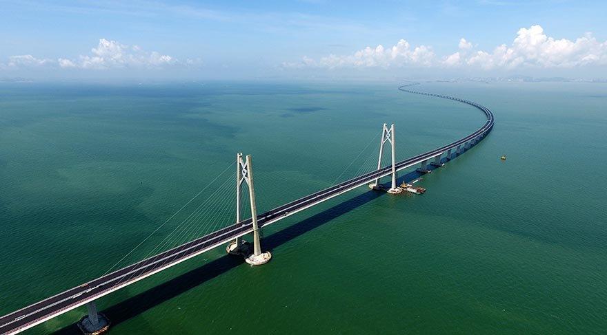 22.8 km'lik köprü açılıyor