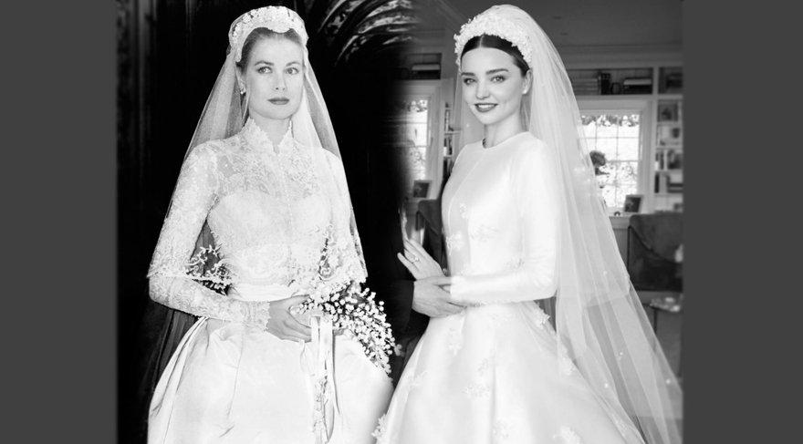 Miranda Kerr, Dior imzalı gelinliği ile hayalini gerçekleştirdi