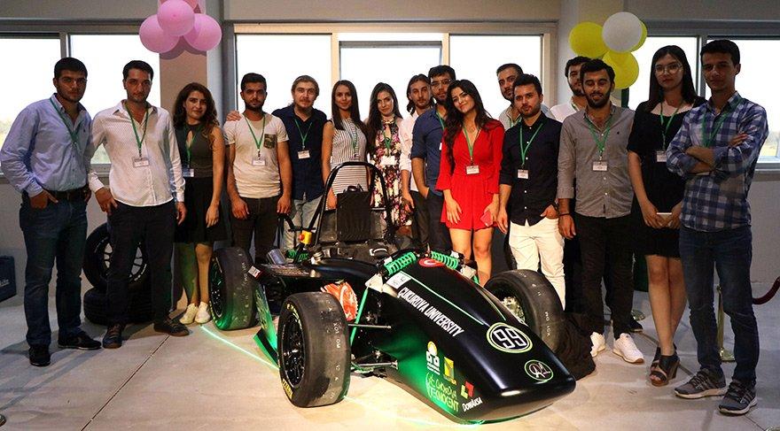 Çukurova Üniversitesi öğrencileri elektrikli araba üretti