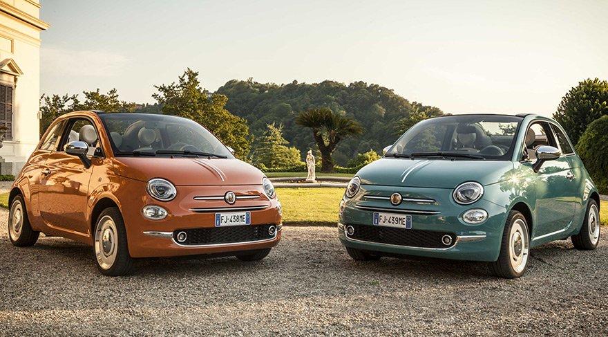 60. Yaşını Kutlayan Fiat 500'e Özel Versiyon